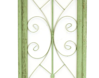 Napa Architectural Window-Wall-Primitive-Rustic-Garden-Patio-18x36--Handmade