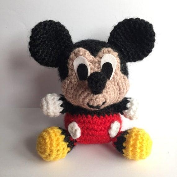 Mickey Amigurumi Bee Bee Tutorial : MICKEY Mouse Disney Amigurumi Pattern Baby Easy by ...
