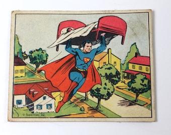 Gum Inc. Superman Gum Trading Card #19 1940
