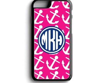 Phone Case iPhone 7 Plus - Monogram iPhone 6s Case - Girly iPhone 7 Case - Monogram Cell Phone Case - iPod Touch 5 case - iPhone Plus Case