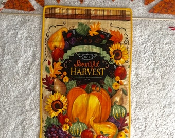 Fall wall hanging and fall banner / two peice set