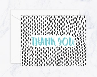 Thank You With Style Card