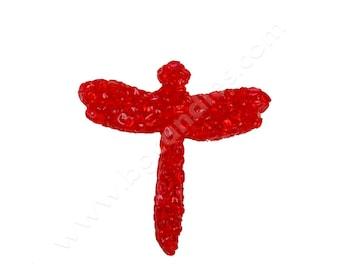 LOVE SPELL Dragonfly Aroma Beads Air Freshener, Red freshener, Car air-freshener, You choose the shape, Dragonfly freshener,MagicalCandlesFl