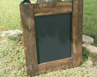 Rustic Chalkboard 21 x 18 , Menu board, reclaimed wood chalkboard ,Rustic Home Decor,  chalkboard sign, Wedding Chalkboard