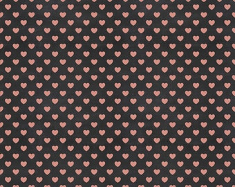 Blackboard with pink hearts photo backdrops, Valentine's Day Photography backdrops , Newborns photo booth background B-0818