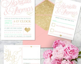 Simple Elegance Invites