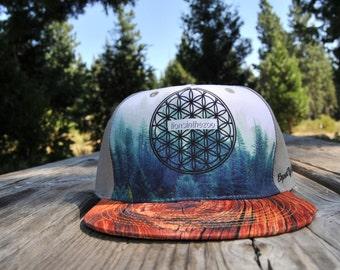 Tree Hugger Strapback Hat (Vegan Buckle)