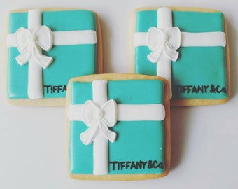 Breakfast at Tiffany's Cookies 1 Dozen (Individually Bagged)
