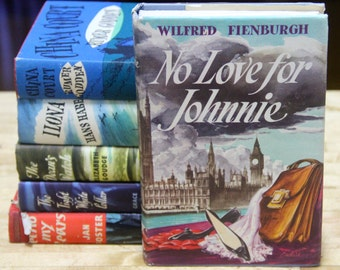 """Wilfred Fienburgh   """"No Love for Johnnie """" The Book Club, London 1950s"""