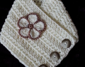 Hand Made Crochet Neck Warmer Own Design