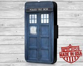 Doctor Who Tardis Leather Wallet Case For iPhone 6, 6 Plus, 5s, 5c, 5, 4s, 4 and Galaxy S6, S3, s4, s5, Note 3, 4