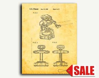 Patent Art - Game Robot Patent Wall Art Print
