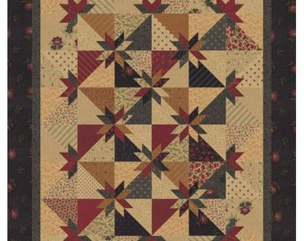 Prairie Cactus Quilt Booklet by Kansas Troubles Quilters for Moda Fabric. KT 16117