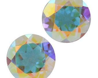 Mystic Mercury Topaz Round Cut Set of 2 Loose Gemstone 1A Quality 5mm TGW 1.00 cts.