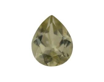 Yellow Apatite Loose Gemstone Pear Cut 1A Quality 5x4mm TGW 0.30 cts.