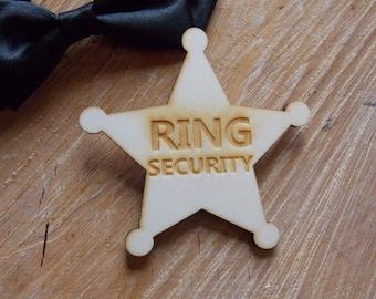 Bouton de sécurité de l'anneau - badges, accessoire de mariage / mariage / mariée / mariage