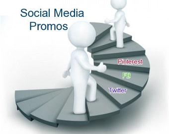 14 day Social Media Promotion Package, Tweet, Facebook, Pinterest and more