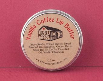Vanilla Coffee Lip Butter - 0.5 oz