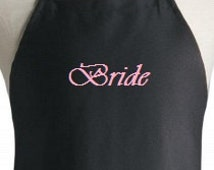Personalized apron. Wedding gift aprons, Bride apron gift,  design your own custom apron.  Baker's gift!  Great for Restaurants or home use
