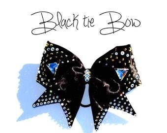 Blavk Tie Bow