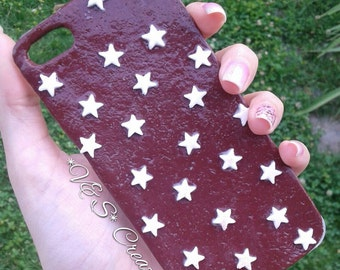 Cover Pan di Stelle for fimo clay cookies in polymery iPhone case