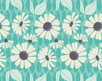 Abiding Dew in KNIT, Succulence by Bonnie Christine for Art Gallery Fabrics