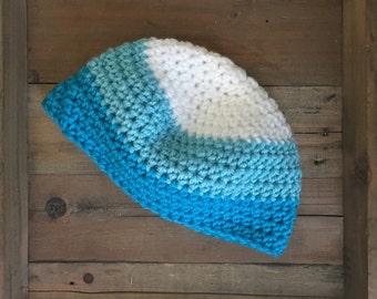 Ombre Toddler skully hat