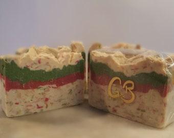 Christmas Shred Vanilla Soap