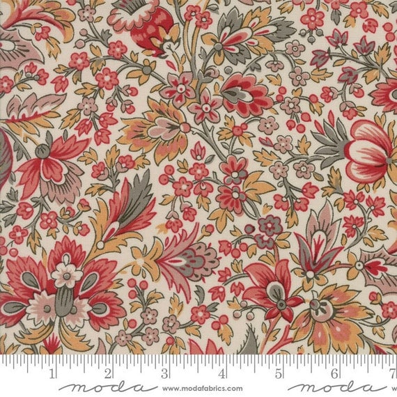 Madame Rouge Fabric By The Yard French General Quilt