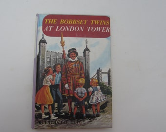 The Bobbsey Twins at London Tower, Vintage Bobbsey Twins #52, Mystery Series, Laura Lee Hope, London Tower Bobbsey Twins 1960s