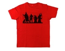 Middle Earth Suspects Mens Movie T Shirt