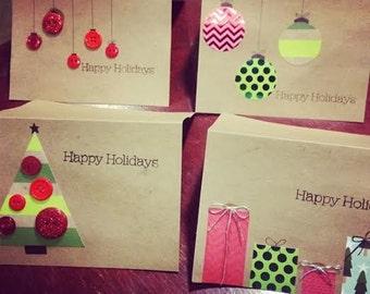 Handmade Happy Holiday Cards