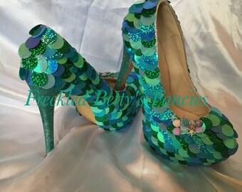 Mermaid Inspired Heels