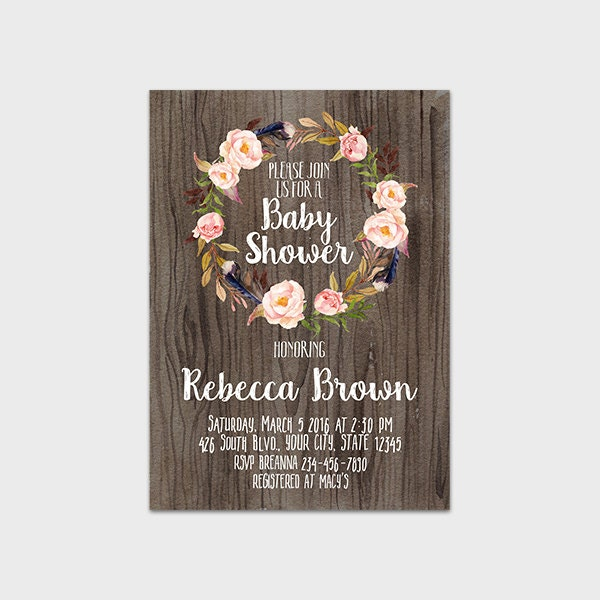 Wedding Shower Invite was amazing invitations template