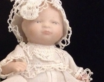 Antique Reproduction Bent Leg Baby Doll