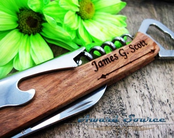 Bottle Opener - Groomsman Gift - Free Engraving