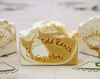 "Handmade Soap ""Orange Creamsicle"""