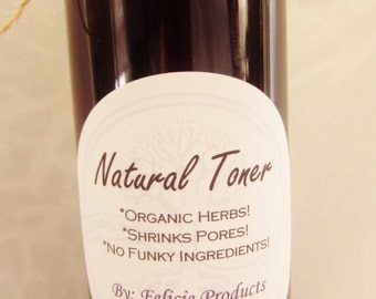 Natural Facial Toner - Great for Acne, Oily Skin and Wrinkles!  ITEM#TT443