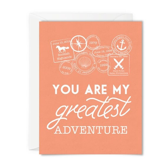Anniversary Card For Disney Fan You Are My Greatest Adventure