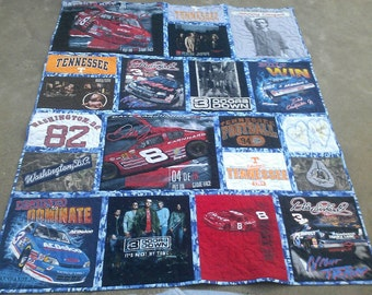 custom made tshirt quilts. Memory quilt/jerseys/fleece/caps/patches/dance/football/girl and boy scouts/baseball/soccer/school