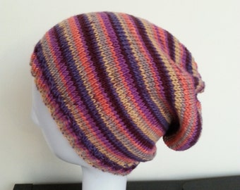 SARA - Stripped Beanie Hat