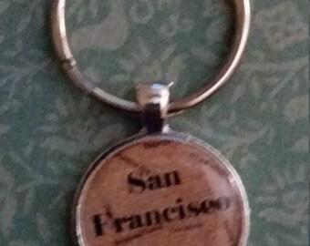 San Franciseo Key Ring