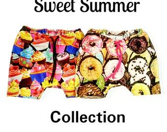 Sweet summer swim trunks