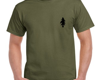 Pineland Special Forces 2 Sided T-Shirt 0906-2