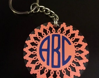 Monogram Keychain (2 inches)