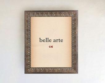 Dark Bronze Wood Leaf Picture Frame |  Sizes: 16x20, 24x36
