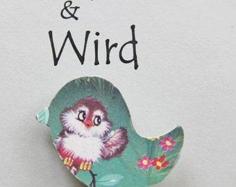 Little Bird Waving