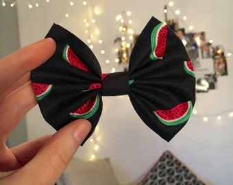 Watermeloney Bow