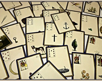 Adele Moreau's Lenormand Deck  by Alexandre Musruck