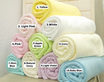 Knit Terry Towel 10 Pastel Colors Selection by Yard (C1175)